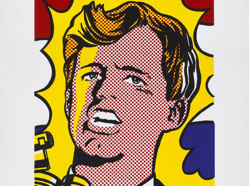 Robert F. Kennedy by Roy Lichtenstein