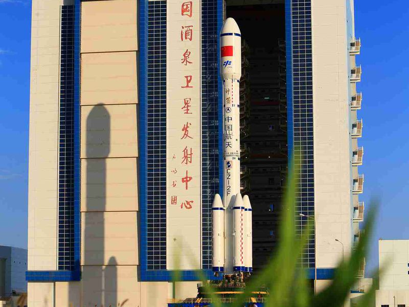 Tiangong-2 and launcher.jpg