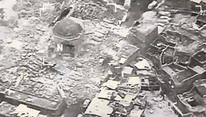 Mosul's Great Mosque of al-Nuri Destroyed by ISIS Militants