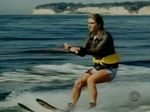 The Fonz Jumping the Shark