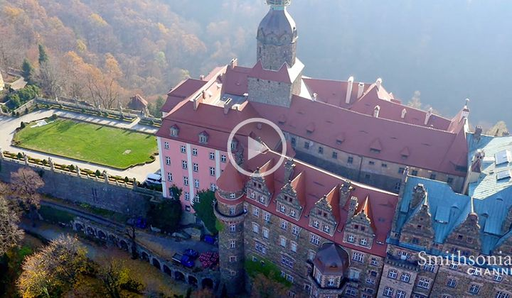 Did Nazis Hide Loot Beneath This Giant Polish Castle?