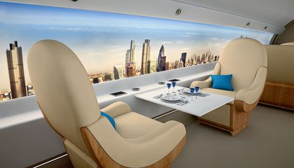 Craziest Airplane Cabins of the Future