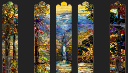 Stunning Tiffany Stained Glass Debuts After 100 Years of Obscurity