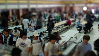 Inviting Writing: Mastering the School Cafeteria