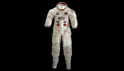A Moonwalk Did Not Destroy Neil Armstrong's Spacesuit, Now Time Won't Either