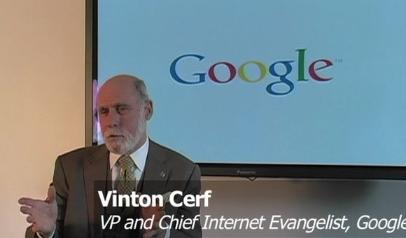 Preview thumbnail for video'Q & A: Vinton Cerf