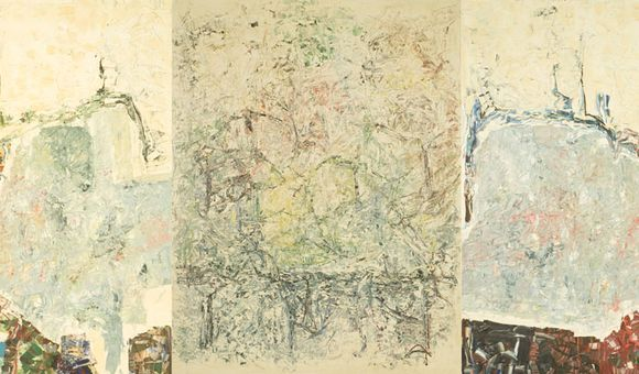 Large Triptych, 1964