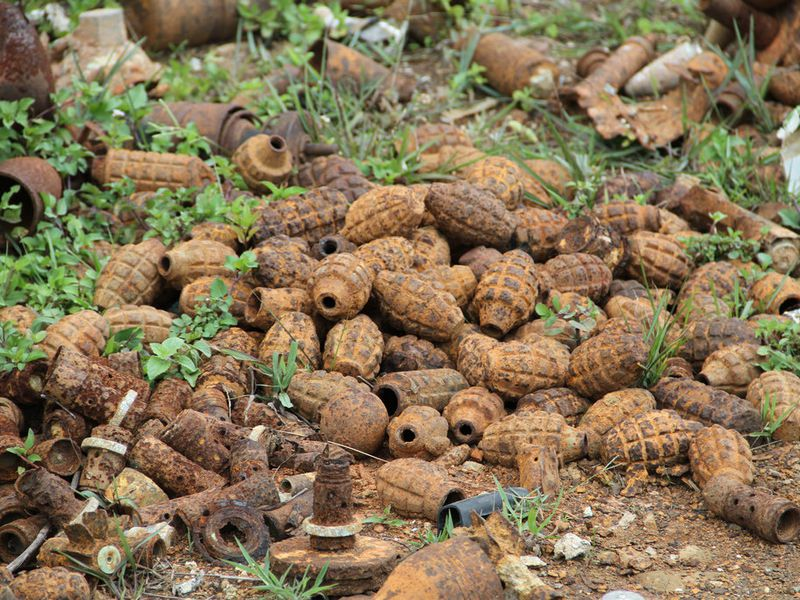Laos Unexploded Ordnance