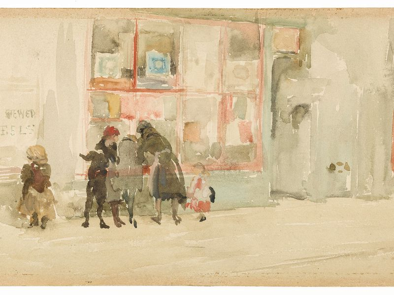 After More Than Eight Decades, These Exquisite Whistler Watercolors Make Their Public Debut