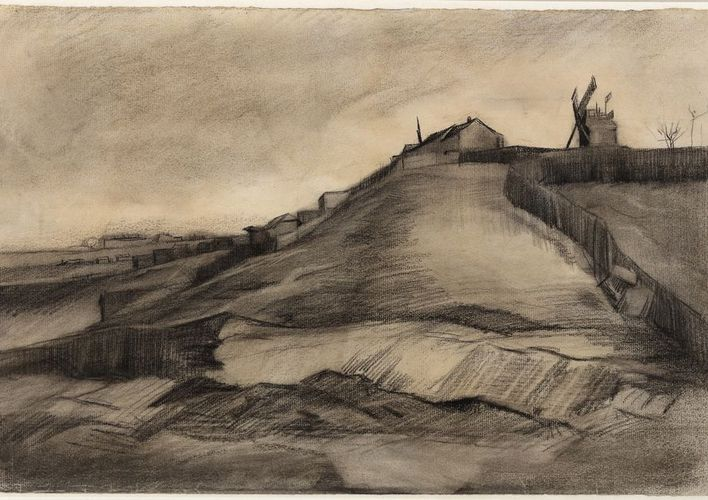 Caption: Two New van Gogh Drawings Go on Display