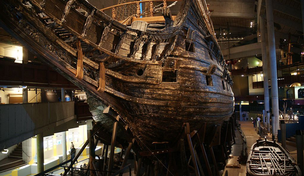 The <em>Vasa</em> is now on view in Stockholm.