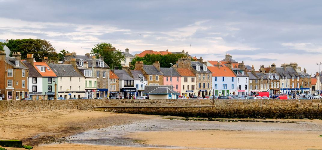 Seaside village of Anstruther