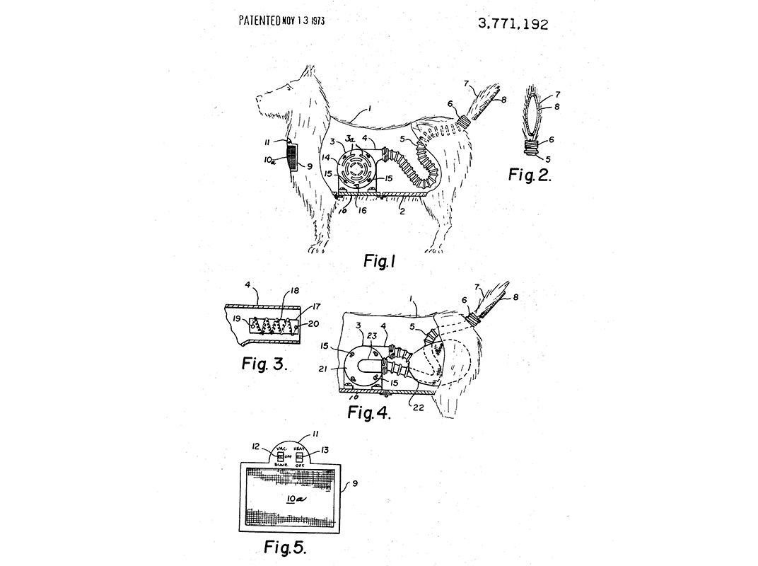 26 Inventions Mothers Can Appreciate Innovation Smithsonian And Apparatus By The Harnessing Of Centrifugal Force Diagram Image A Toy Dog With Vacuum Inside It Allows Groomers To Clean After Haircut Without Scaring But If Your Kid Is Asking For