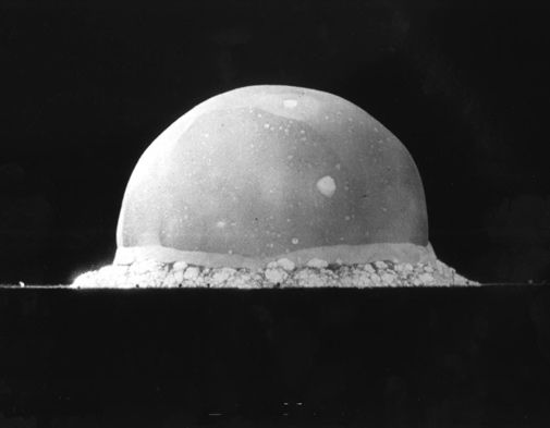 Remembering the Trinity test, July 16, 1945.
