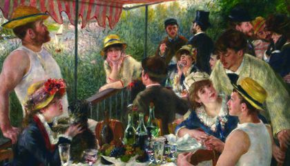 How to Plan a Party Based on Renoir's Luncheon of the Boating Party