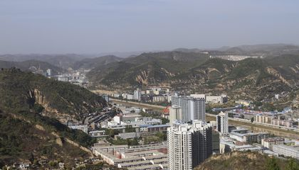 China Is Tearing Down Mountains to Build Cities