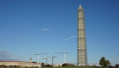 Washington Monument Scaffolding Is Coming Down Today