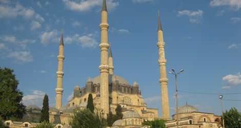 The great Selimiye Mosque of Edirne