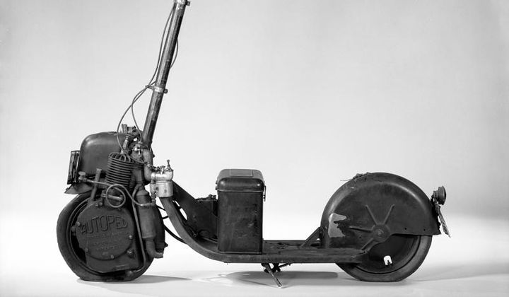 The Motorized Scooter Boom of the Early 1900s