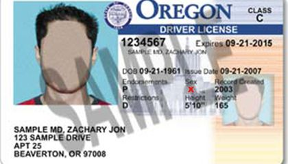 Oregon Becomes First State to Issue Gender Non-Binary ID Cards