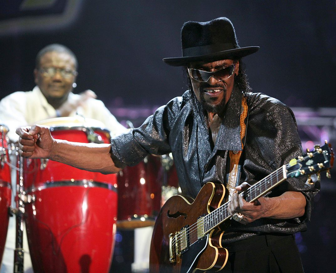 Chuck Brown, Pigeon Island
