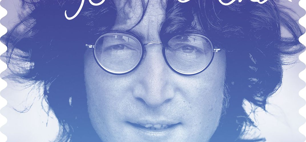Caption: John Lennon Was Once a Philatelist