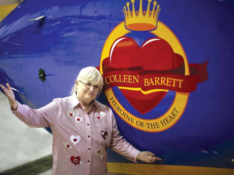 Barrett started with Southwest Airlines in 1978