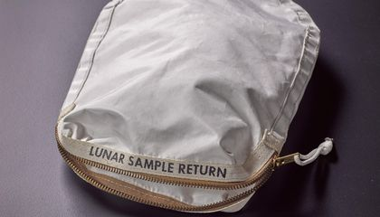 Apollo 11 Moon Rock Bag Sells for $1.8 Million in Controversial Auction