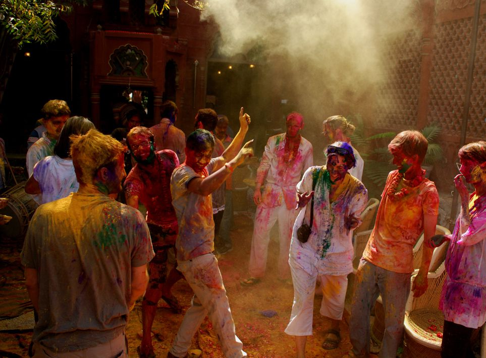 10 Best places to celebrate Holi in India rajasthan