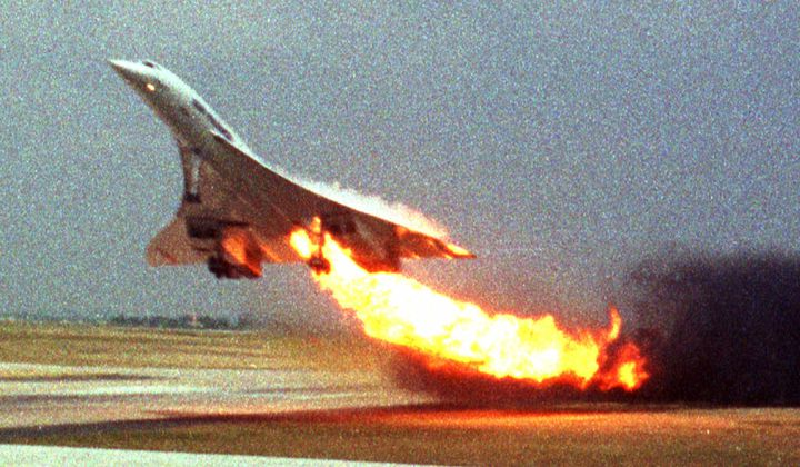 Concorde's Freak Aviation Disaster
