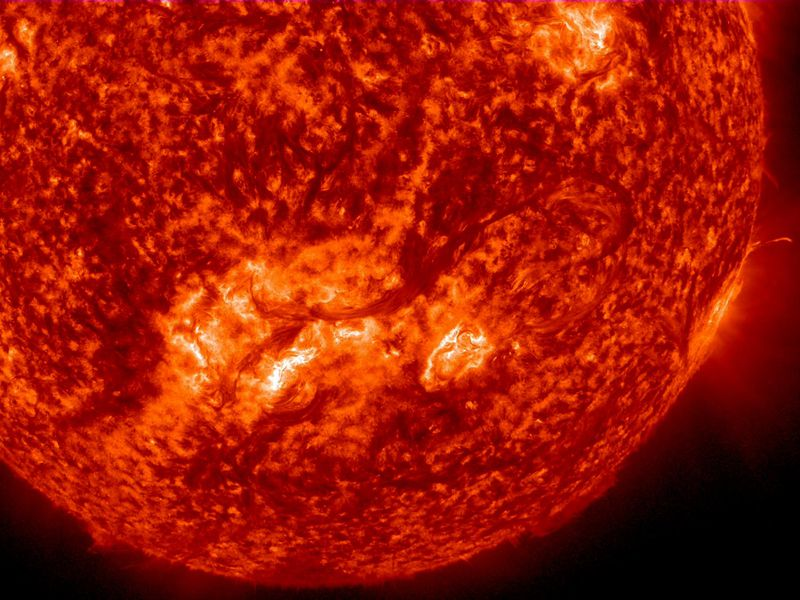 The Sun's Core Spins Roughly Four Times Faster Than Its Surface