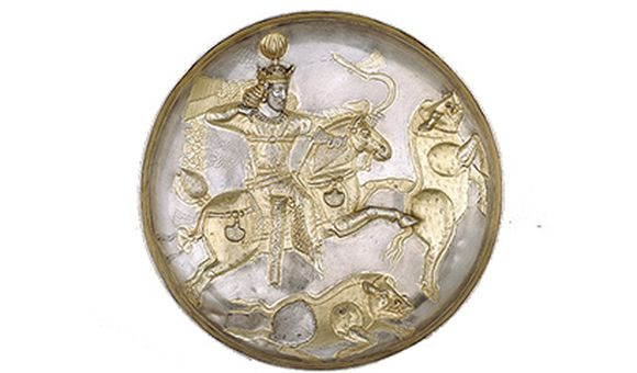 The Shapur Plate, 300 to 400 A.D.