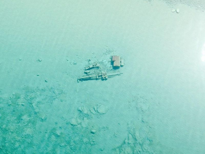 Lake Michigan Is So Clear Right Now Its Shipwrecks Are