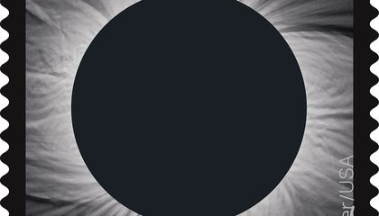 Celebrate the Eclipse With a Color-Shifting Stamp