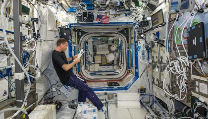 Ask the Astronaut: Is it quiet onboard the space station?