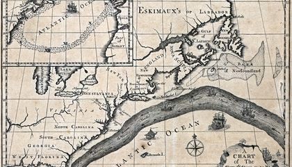 Benjamin Franklin Was the First to Chart the Gulf Stream
