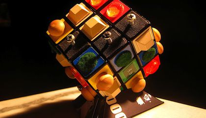 These Rubik's Cubes Can Be Solved With Touch Alone