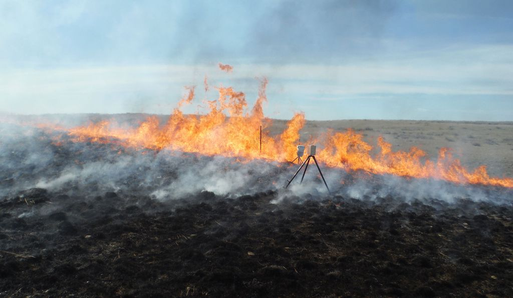 For a test burn in 2015, BLM architects placed temperature sensors within mock cultural sites.