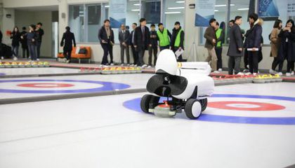 Curly the Curling Robot Can Beat the Pros at Their Own Game