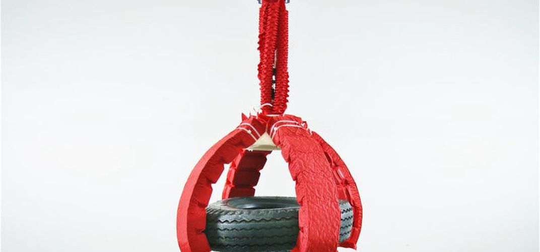 Caption: Artificial Muscle Can Lift 1,000x Its Own Weight