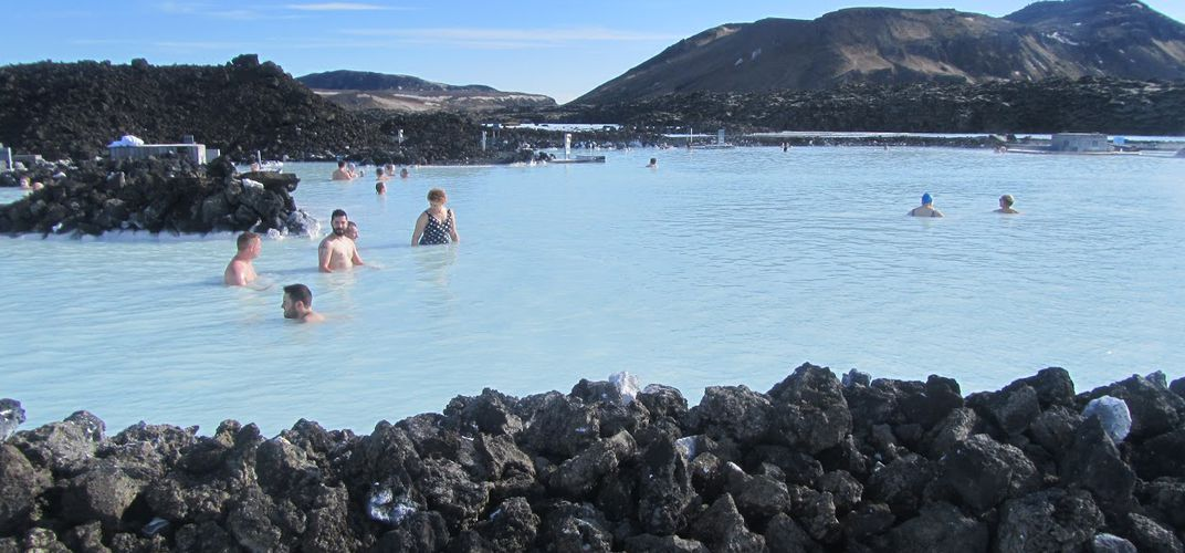 The famous Blue Lagoon.  Credit: Meggan R.
