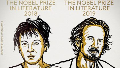 Nobel Prizes in Literature Awarded to Olga Tokarczuk and Peter Handke