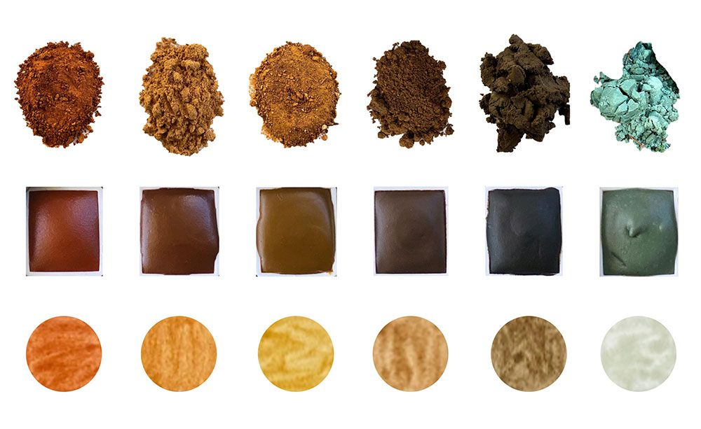 Soils, Paints, and Swatches