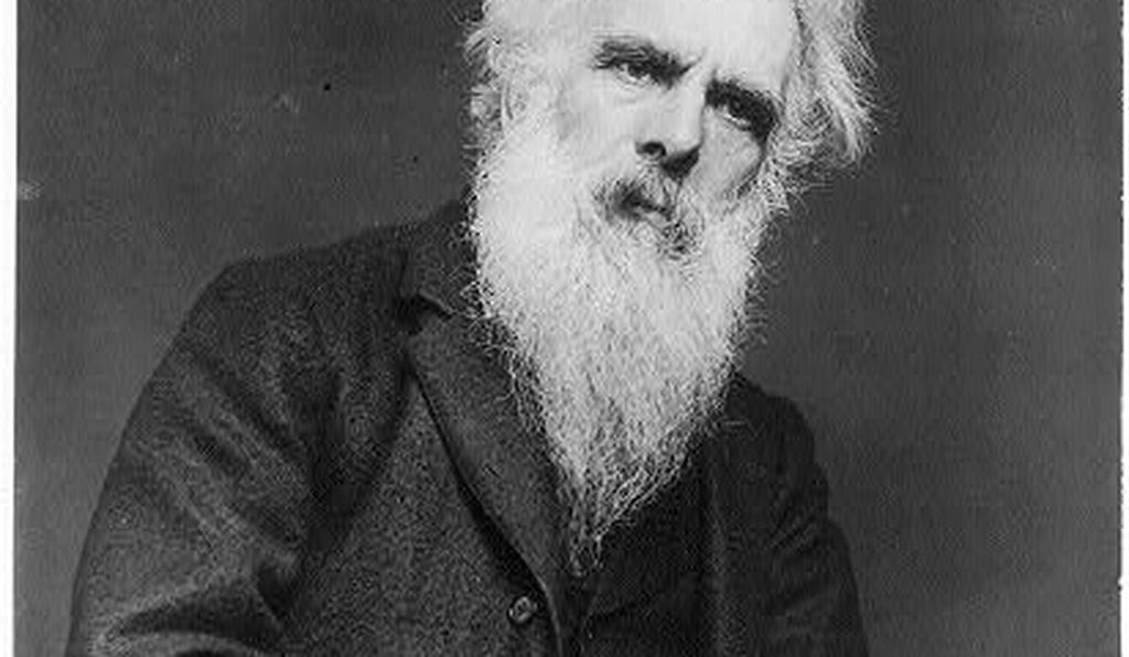 After the stagecoach accident, Eadweard Muybridge's appearance went from neatly groomed to unkempt, and was often compared to that of the bearded poet Walt Whitman.