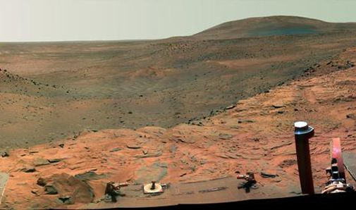 The Spirit rover looks back on four years of Mars exploration.