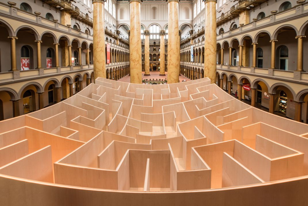 The Winding History Of The Maze Travel Smithsonian