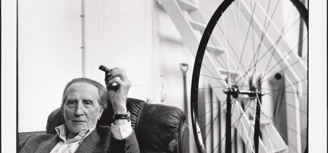 Caption: Marcel Duchamp Played With the Definition of Art