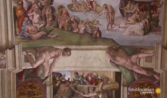 Preview thumbnail for video'Museum Secrets Revealed: Pouncing on the Sistine Chapel