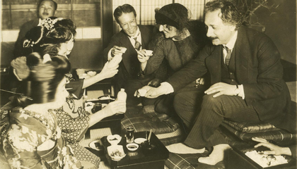 When Albert Einstein Visited Japan