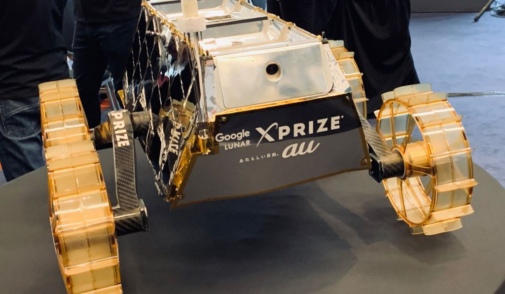 SORATO may not look like much, but she's got it where it counts, Kid: namely, in efficiency. Take a long look now, because you won't be able to come admire the lunar rover in the Future of Spaceflight gallery until 2024 at earliest.